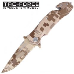 New Ao Digital Desert Camo Rescue Knife Yc515Dm