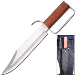 Civil War D-Guard Survival Hunting Bowie Knife