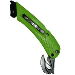 Right Handed 3 In 1 Safety Cutter, Green, Cutter, Tape Splitter, Film Cutter S5R