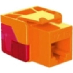 Ic1078L6Or - Cat6 Jack - Orange Ic1078L6Or - Cat6 Jack - Orange