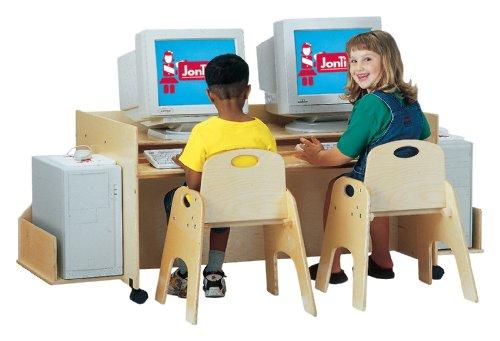 Picture of Comfortable Kydz Computer Desk - Double - School & Play Furniture (B002LTHB82) (Computer Desks)