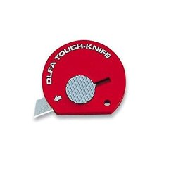 Olfa Touch Knife Tk-4R Color Red Model 9538