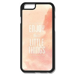 Enjoy Little Things Pc Pink Case For Iphone 6