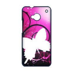 Generic Mobile Phone Cases Cover For Htc One M7 Case Fashionable Art Designed With Beautiful Butterfly Personalized Shell Cell Phone Protect Skin