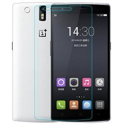 Nillkin 9H Anti-Burst Tempered Glass Protective Film Screen Protector For Oneplus One - Retail Packaging - Transparent