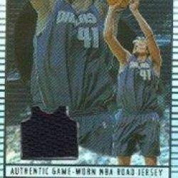 2002-03 Topps Jersey Edition #Jedn Dirk Nowitzki R Jsy