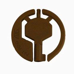 Survival, Backup, Non-Metallic, Universal Handcuff Key Double Lock Design