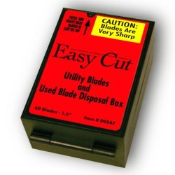 60 Count Heavy Duty Replacement Blades For Easy Cut Series (60 Blades In A Box)