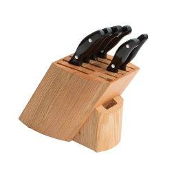 Ken Onion Rain Oak Wood 7 Piece Knife Block Set