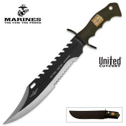 United Cutlery Uc2863 Marine Force Recon Sawback Bowie