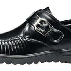Index Multifunction Leather Oxfords Business Shoes For Man(7.5 D(M)Us, Black)
