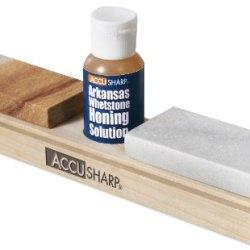 Accusharp 023C Combo Sharpening Stones With Honing Oil