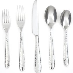Cambridge Silversmiths Soiree Mirror 30-Piece Flatware Set