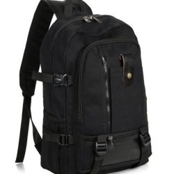 American Shield Travel Gear Swiss Style Travel School Ipad Teblet Daypack Backpack.Aggz11-C1 Black