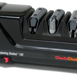 Chef'Schoice M130 Professional Knife-Sharpening Station, Black