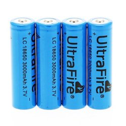 Ggb- Uitrafire Lc 3000Mah 18650 Battery (4Pcs)