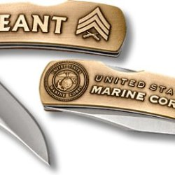 Us Marine Corps Sergeant Small Lockback Knife