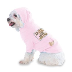 It'S Hard To Be Humble When You'Re A Hair Stylist Hooded (Hoody) T-Shirt With Pocket For Your Dog Or Cat Medium Lt Pink