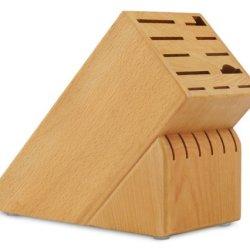 Cutlery And More 17-Slot Universal Knife Block (Beechwood)