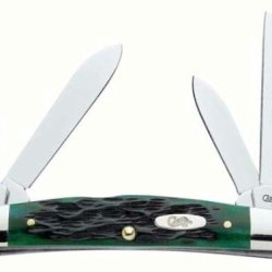 Case 09725 Pocket Worn Bermuda Green Medium Congress Knife