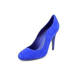 Kelsi Dagger Lillian Womens Size 9.5 Blue Suede Pumps Heels Shoes