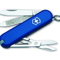 Victorinox Swiss Army Classic Sd Pocket Knife (Blue)