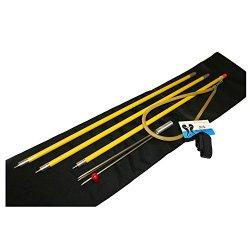 Jcs Fiberglass (Take-Apart) 3 Piece Pole Spear, Yellow