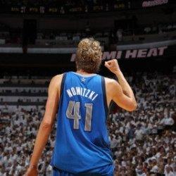 Dallas Mavericks V Miami Heat - Game Two, Miami, Fl - June 02: Dirk Nowitzki Photographic Poster Print By Nathaniel S. Butler, 8X12