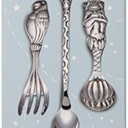 Reed & Barton Silver Safari 3-Piece Baby Flatware Set