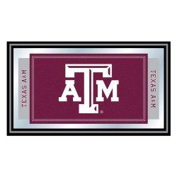 Texas A&M University Logo And Mascot Framed Mirror Texas A&M University Logo And Mascot Framed Mirr