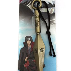 6.5 Inch Naruto Konoha Kunai Blade Knife Keyring Hanging Pendant