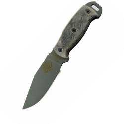 Ontario Knife Rbs-4 Knife, Grey/Black