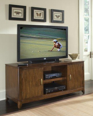 Image of Home Styles Paris TV Stand in Mahogany (5540-12)