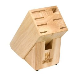 Sabatier Wood Cutlery Block With Slot For Shears