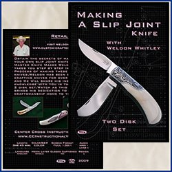Making A Slip Joint Knife With Weldon Whitley (2 Dvds)