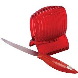 Joie Tomato Holder Slicer Guide & Knife Harold Imports