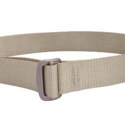 Bison Designs Guide Usa Made 38Mm Active Webbing Low Profile 7075 Aluminum Buckle Belt, Desert Sand, Medium/38-Inch Waist