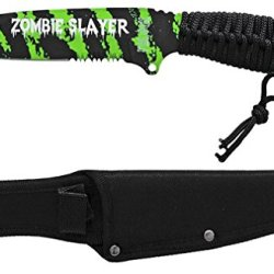 "10"" Zombie Slayer Knife - Green"
