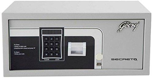 Godrej Secreto Electronic Safe (Silver)