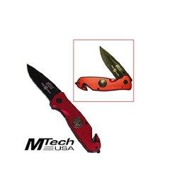 Extreme Firefighter Pocket Knife Set (Set Of 2)