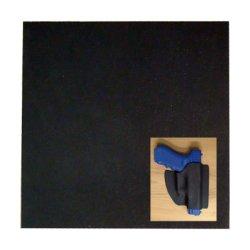 "Springfield Leather Company Kydex T Calcutta Black .093 12"" X 12"""