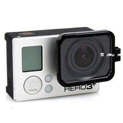 Puluz Tmc Lens Anti-Exposure Protective Hood For Gopro Hero 4 / 3+ (Black)