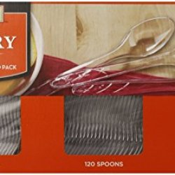 Member'S Mark Clear Cutlery Combo Pack, 360 Count