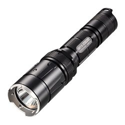 Nitecore 930-Lumens Led Flashlight With Infinite Brightness Adjustment, Black