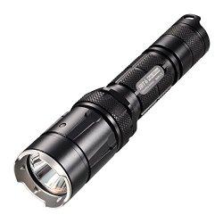 Nitecore 930-Lumens Led Flashlight With Infinite Brightness Adjustment, Black