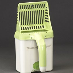 Neater Pet Brands Scooper Cat Litter Scoop, Green