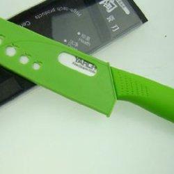 Zjchao(Tm) 4 Pc New Ultra Sharp Kitchen Ceramic Knife Set Cutlery Straight (G...