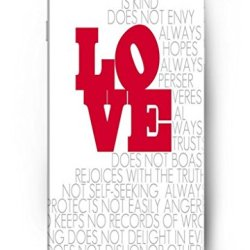 Iphone 6 Case Ouo Red Love - Iphone 6 4.7 Inch Case Cover Protection Of Faith Religious Christian Inspirational Quote