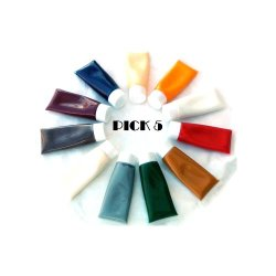Custom 5 Coloring Paste For Epoxy Gluing Or Repairing Of Granite, Marble, Natural Or Artificial Stones, Arts And Crafts