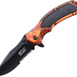 Mtech Usa Mt-A835Rc Spring Assisted Knife, 4.5-Inch Closed
